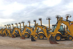 Une vente Cat Auction Services aux USA
